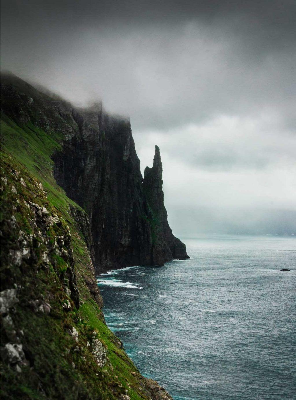 Færøerne Sarah Green trollkonufingur