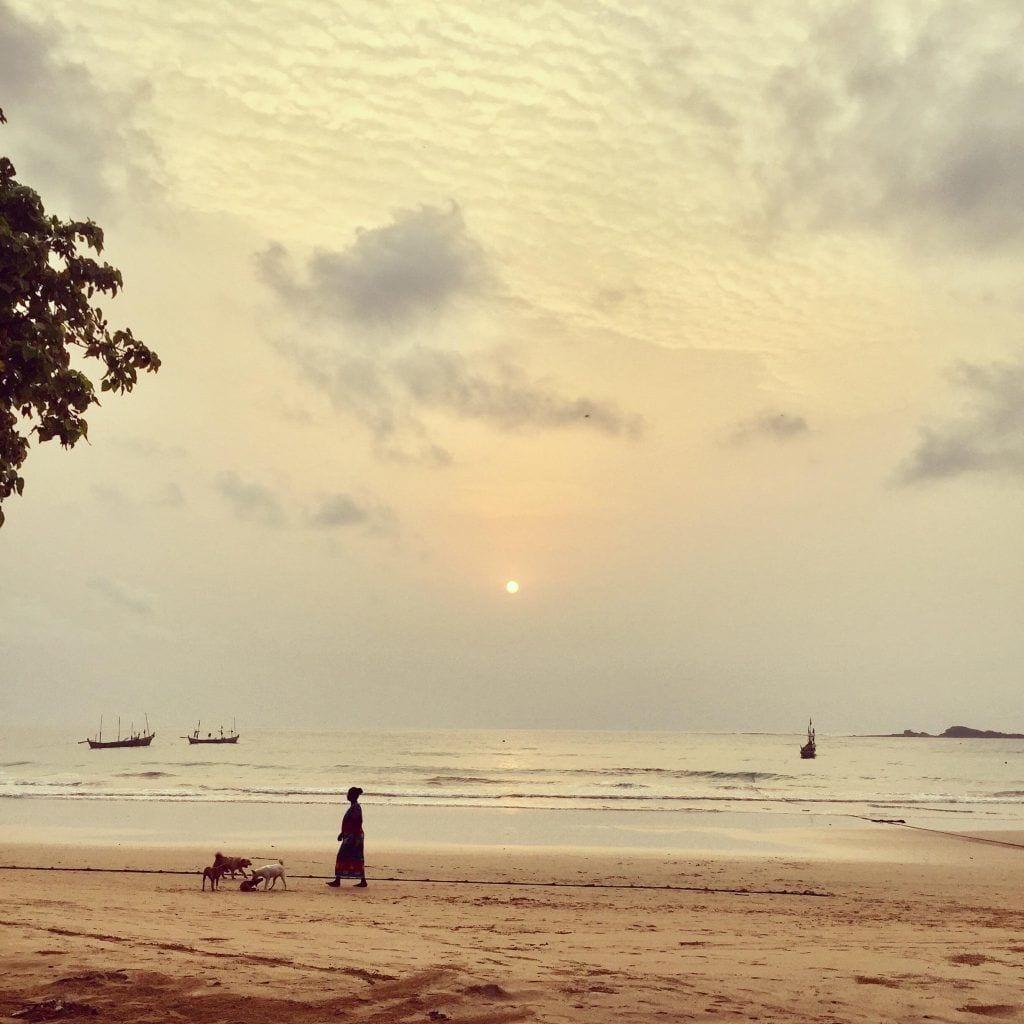 Solnedgang - Ghana - Rejser