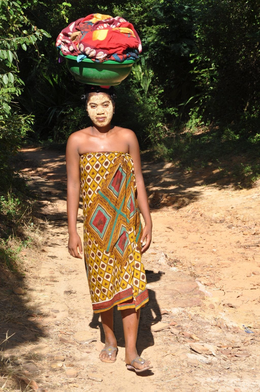 Madagaskar-rejse - kvinde kultur natur - rejser - landsbyboere