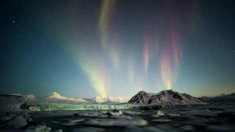 Norway Svalbard Northern Lights Travel -