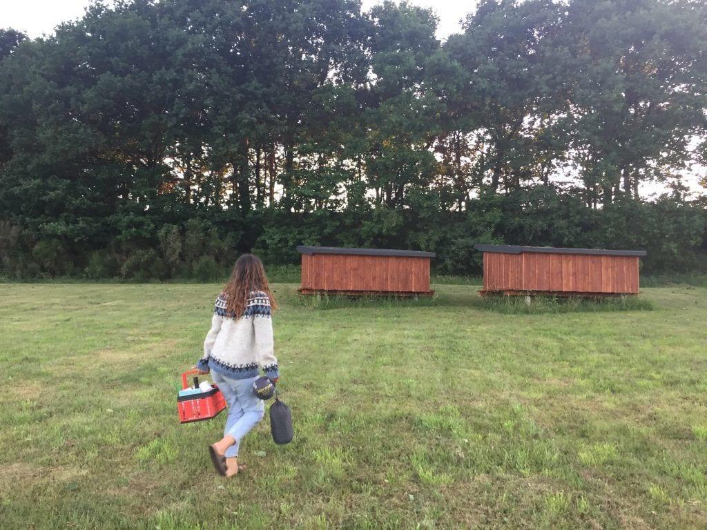 Frederikshavn - kvinde shelter natur - rejser
