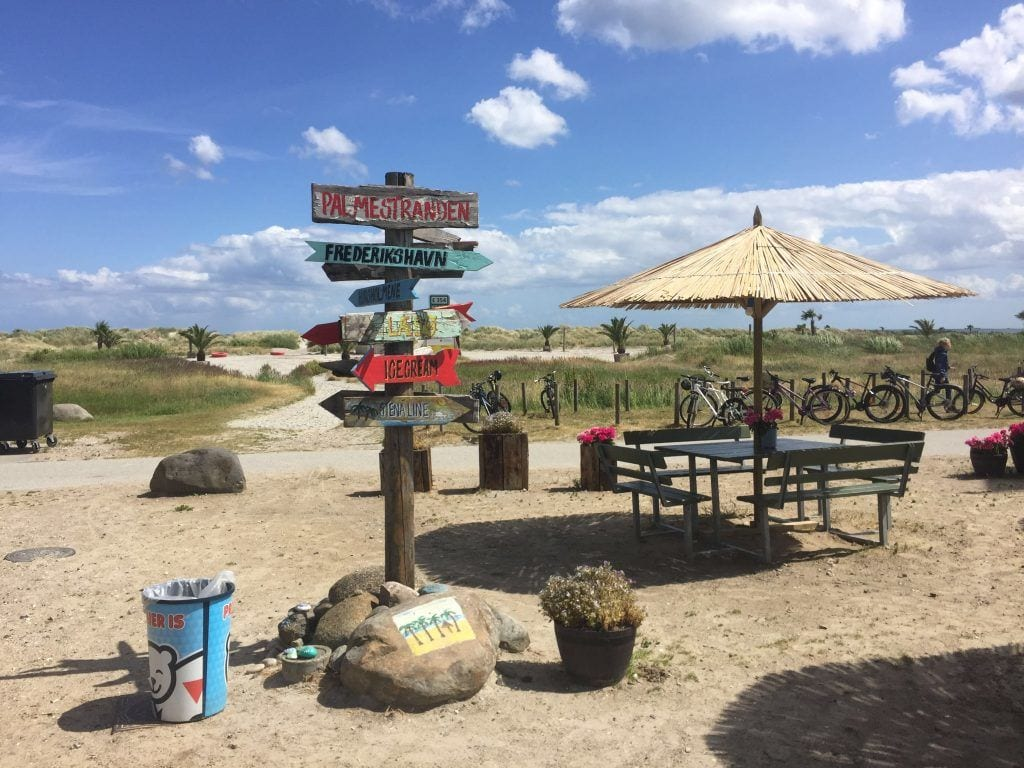 フレデリクスハウン-ビーチ自然パームビーチ-旅行