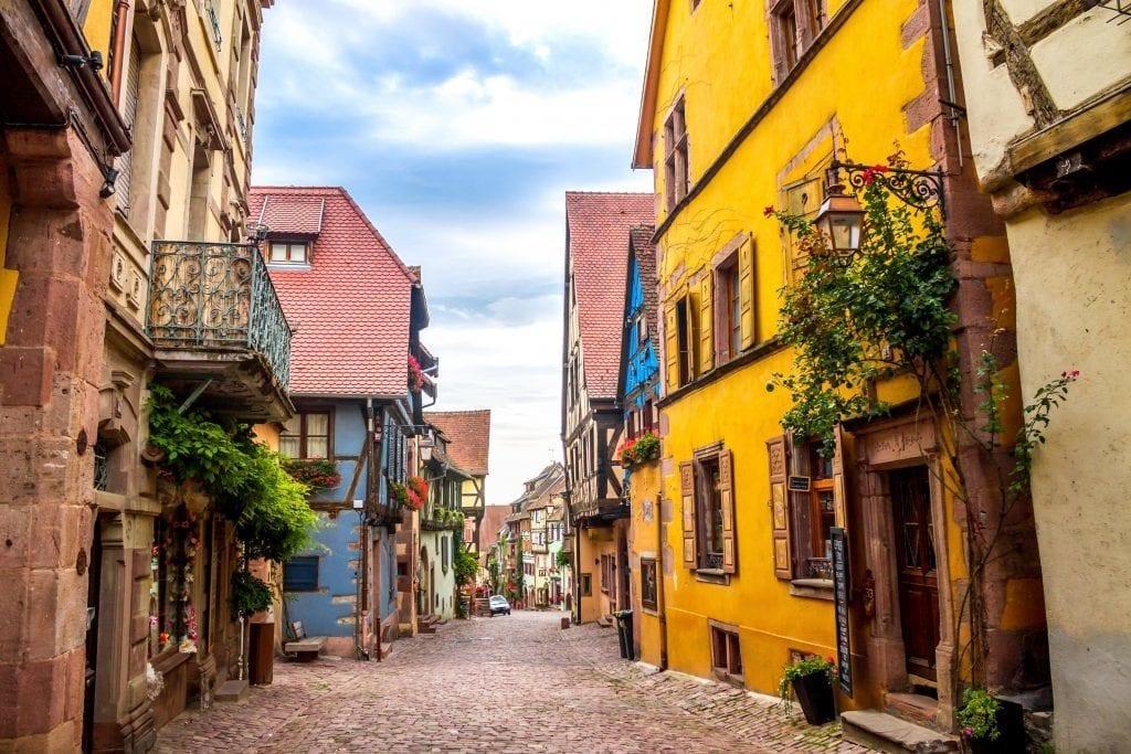 Frankrig Alsace Riquewihr