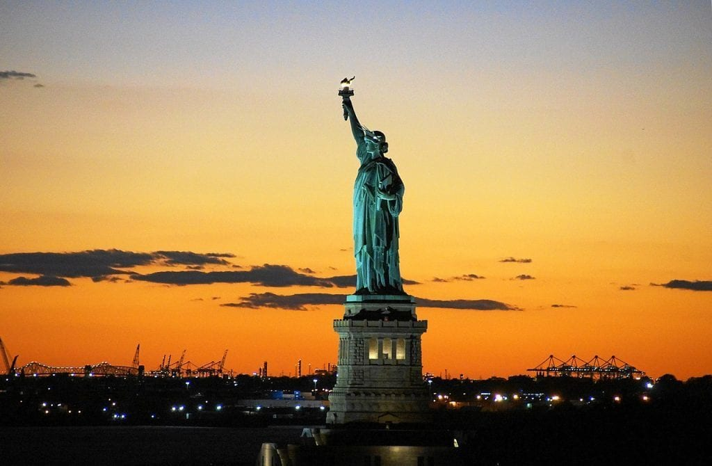 USA - New York, Statue of Liberty - travel apps, travel