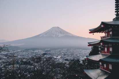 Monte fuji - Giappone - montagna - viaggio