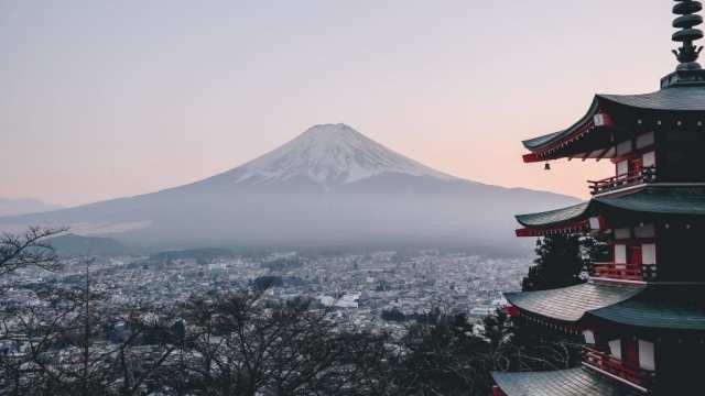 Mt fuji - Japan - fjall - ferðalög