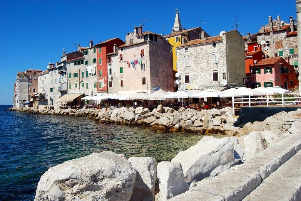 Kroatien - Dalmatien, Uferpromenade