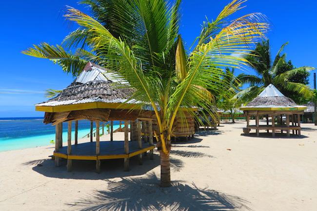 Samoa strand hytter fale rejser