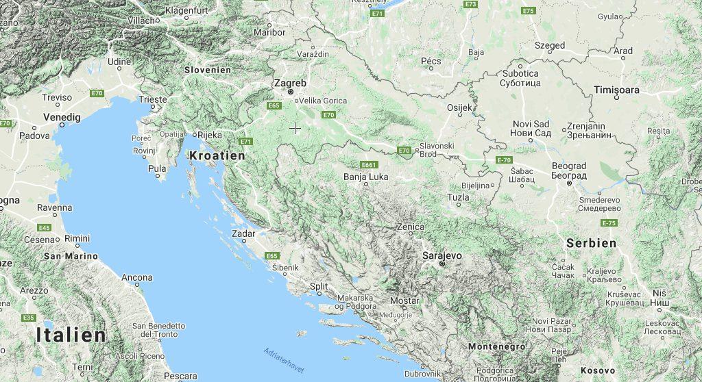 Kroatien kort rejser