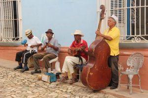 Cuba - Trinidad, salsa, orkester - rejser
