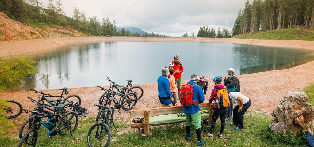 Austria - Saalachtal, e-bikes, lawa - paglalakbay