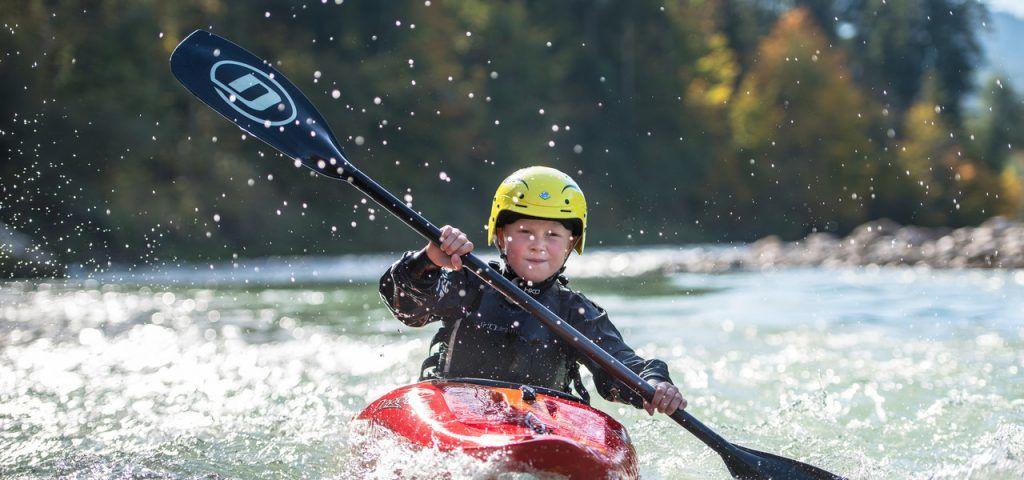 Austria - Saalachtal, kayak, ilog - paglalakbay
