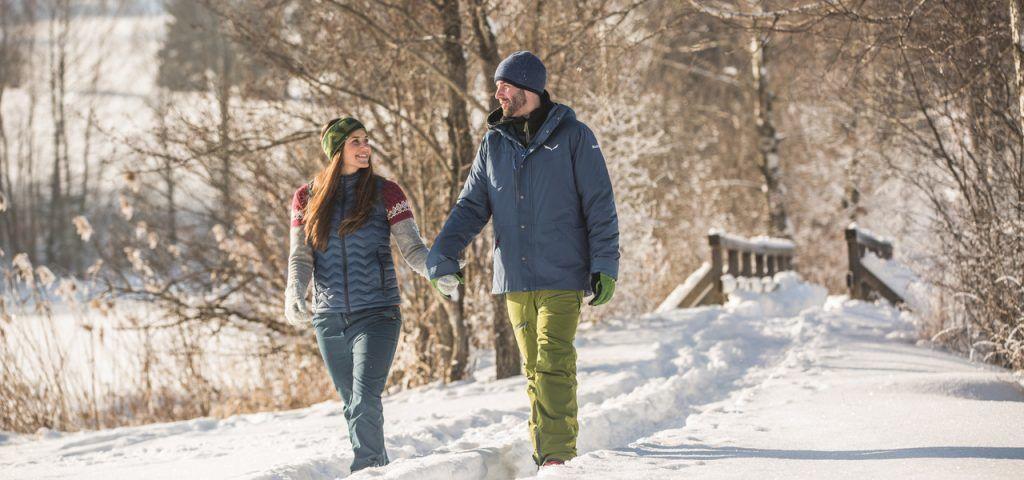 Austria - Saalachtal, snow, winter, hiking - paglalakbay
