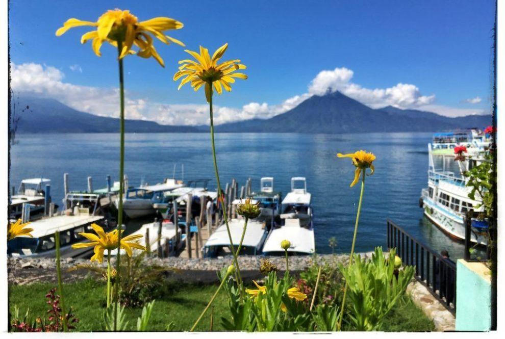 Guatemala - Lago Atitlán - rejser