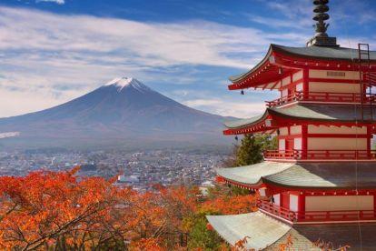 Japan - mt Fuji - mountain - travel
