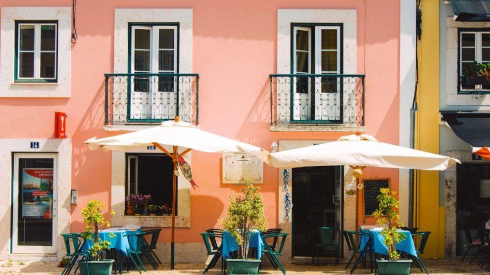 Portugal Lissabon Restaurant Rejser