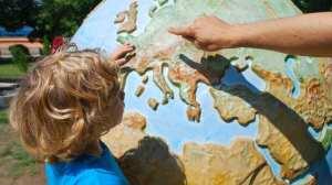 Børn rejser kort