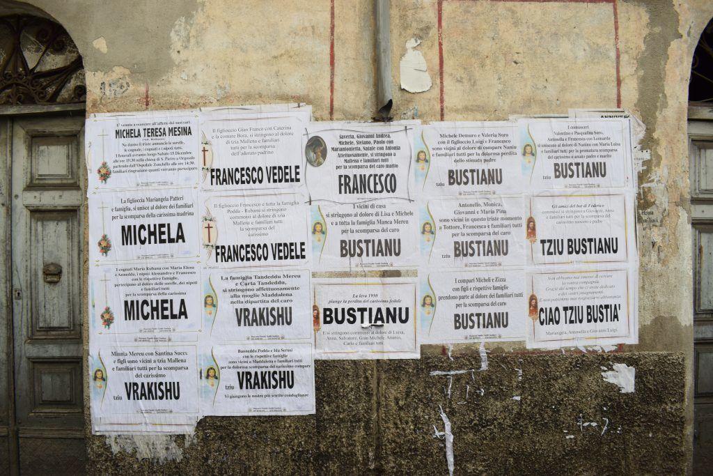 Italia - Sardinia, nekrologer - reise