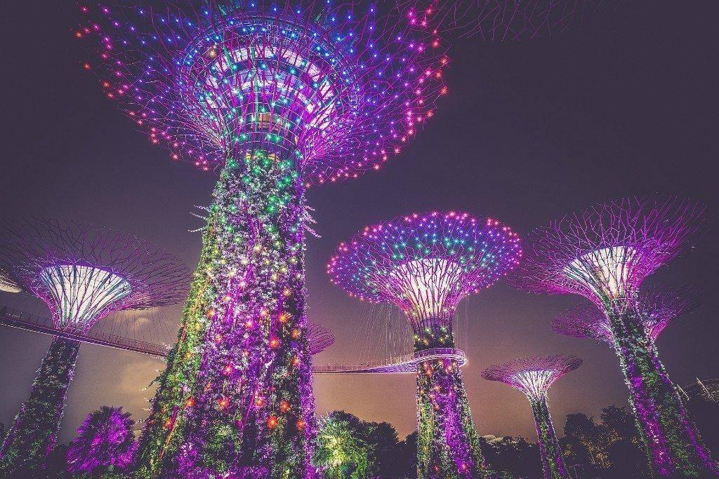 Singapore Gardens by the bay turistattraktioner rejser