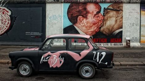 Tyskland Berlin mur rejser