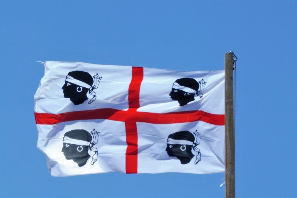 Sardinia vinflagg