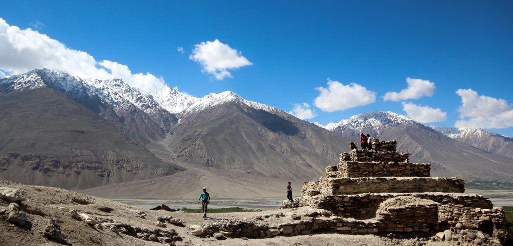 Tadsjikistan - Vrang, stupa - rejser - tajikistan