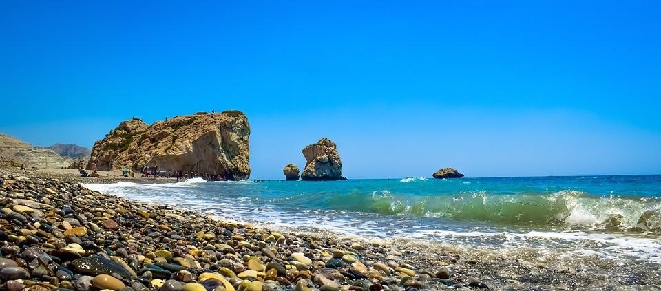 Cypern - Afrodites klippe - rejser