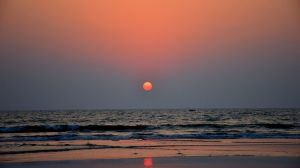 Sunset, Goa, India