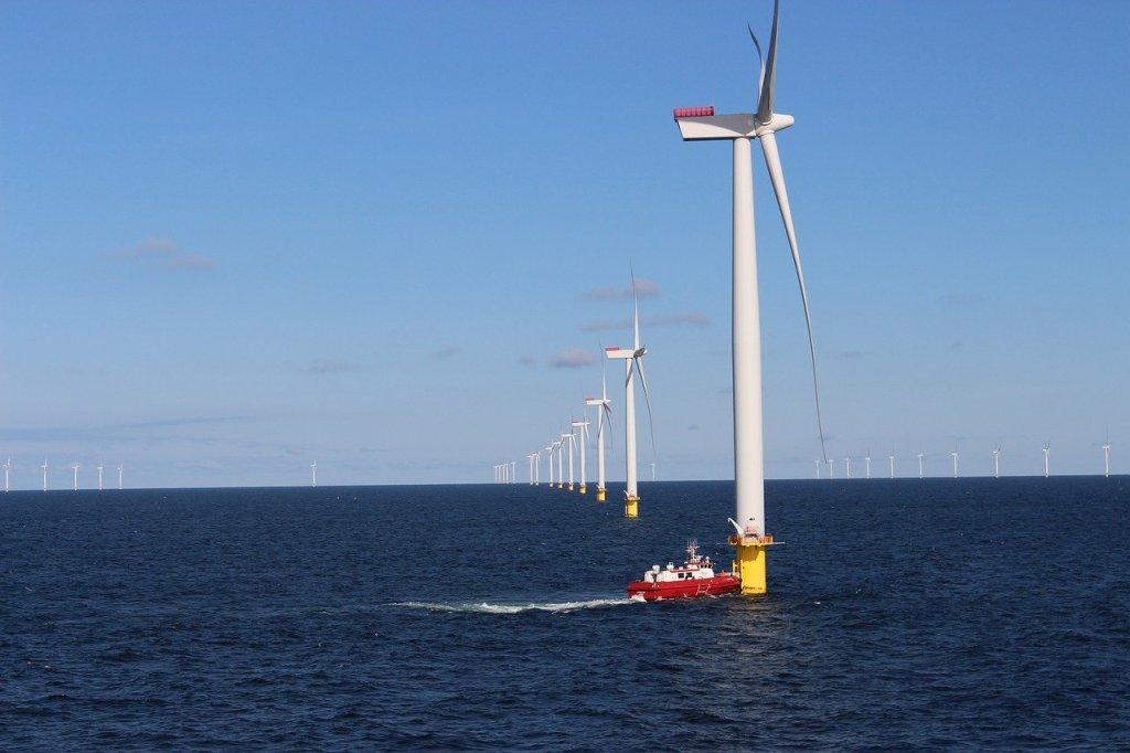 Denmark - holiday sa Anholt, wind turbines - paglalakbay