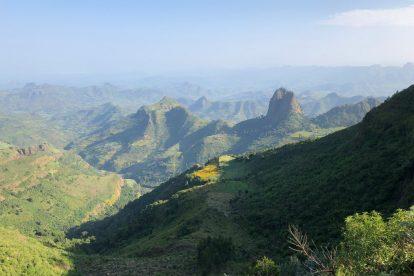 הרי סימיין - אתיופיה - נסיעה