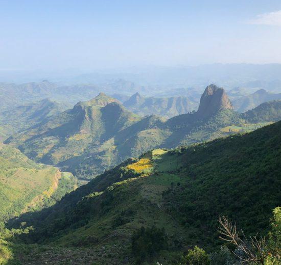Simien-bjergene - Etiopien - rejser