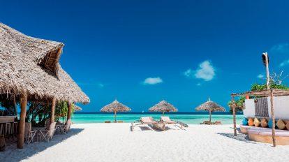 zanzibar, plaża, tanzania