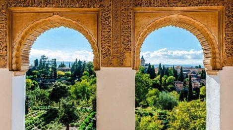 Alhambra, Andalusien - Spanien - rejser