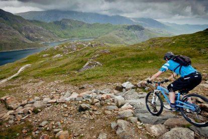 Mountainbike, nordwales
