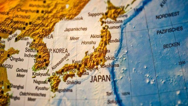 North Korea, Map, Asia, Travel