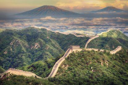 China - Great Wall of China - landscape - travel