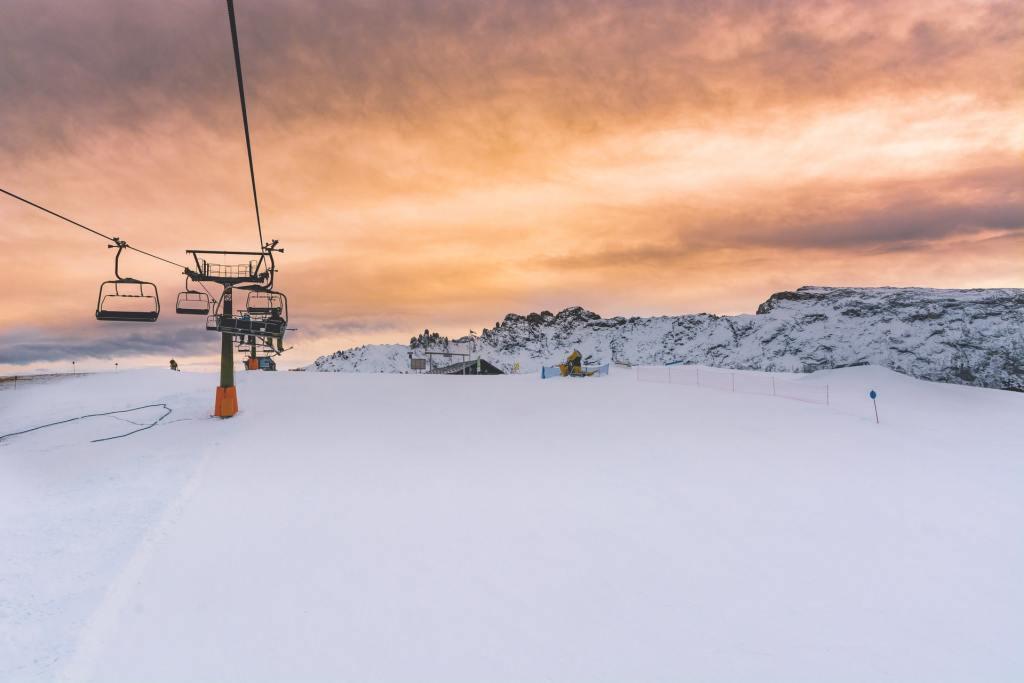 Sne, skilift - bjerge - Italien - rejser