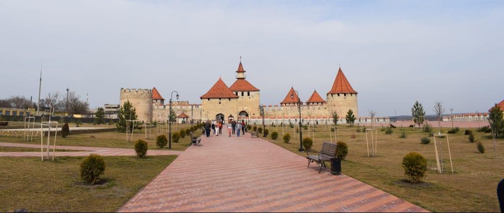 Moldova - Bender, borg - rejser