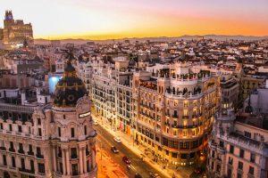 Spagna - Madrid, case, strade - viaggi