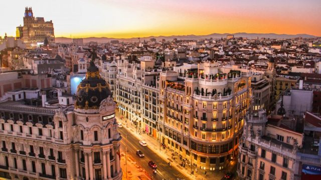 Spain - Madrid, houses, streets - travel