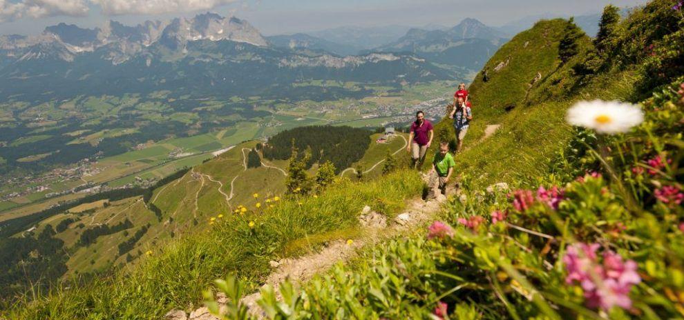 Vandreparadiset I St Johann In Tirol Ostrig Rejsrejsrejs