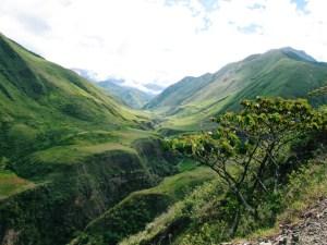אקוודור - גבעות ירוקות - נסיעה