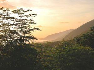 हैती पहाड़ के दृश्य