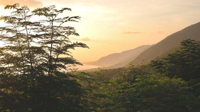 Haiti bjerge udsigt rejser