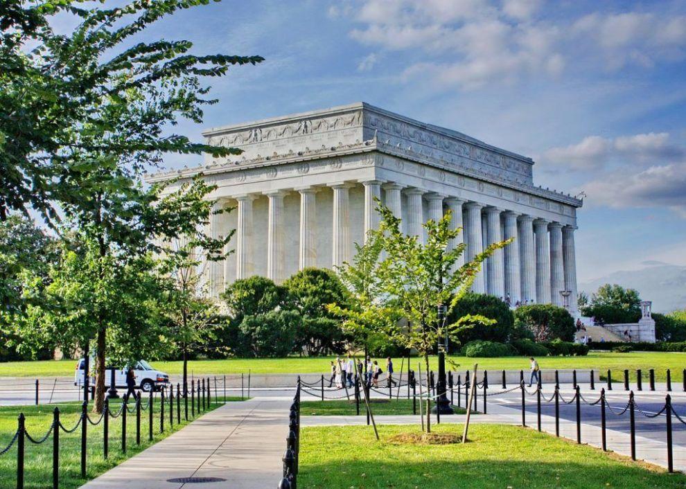 USA - Washington, Lincoln Memorial - Rejser