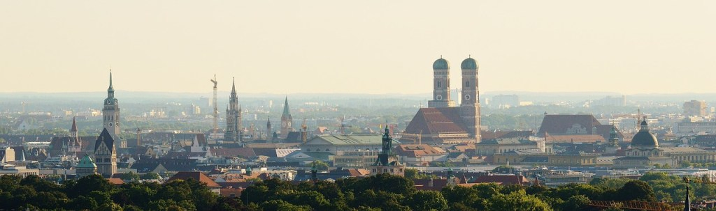 Tyskland - München, skyline