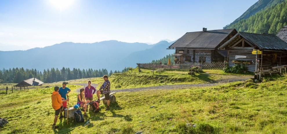 ऑस्ट्रिया - फ्लैचू - कुटीर पहाड़ - यात्रा