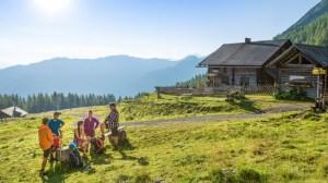 Østrig - Flachau - hytte bjerge - rejser