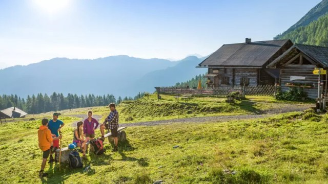 Austria - Flachau - cottage mountains - travel