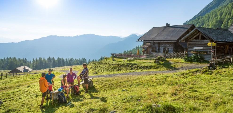 Austria - Flachau - cottage mountains - travel